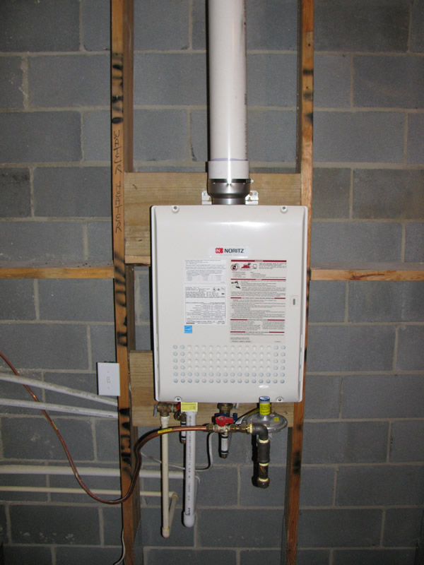 Tankless Water Heaters NC