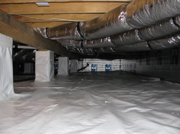 Sealed Crawl Spaces NC