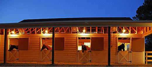 Horse Barns Southern Pines NC